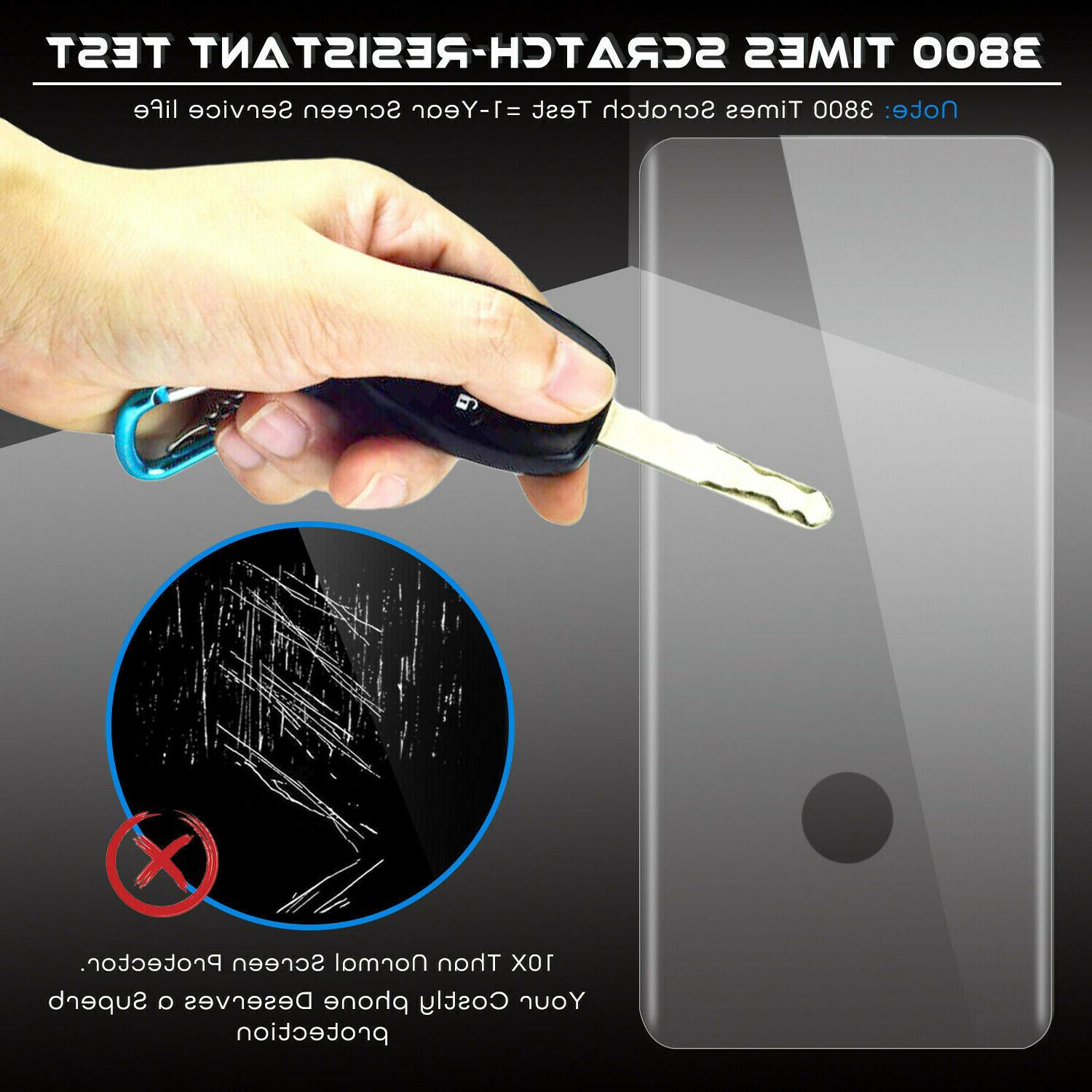 2 PACK Samsung S20 Ultra 4D Protector Tempered