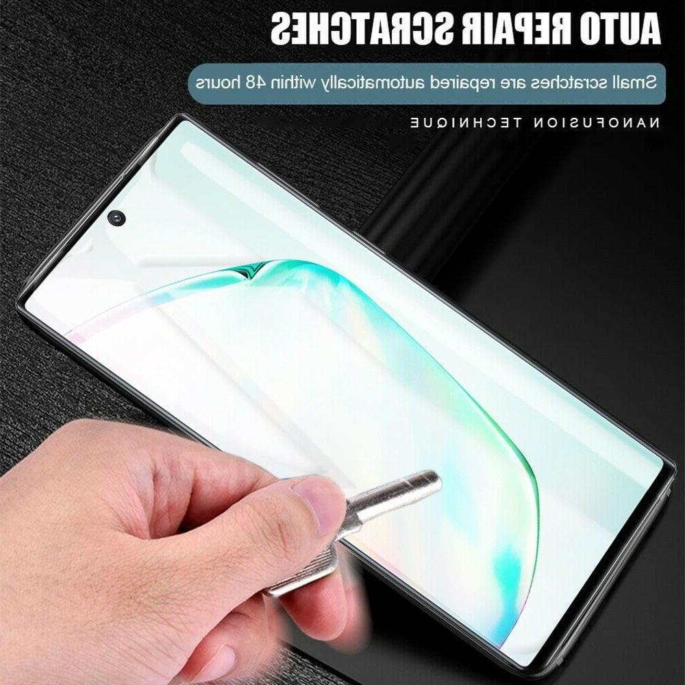 2 Protector Samsung Galaxy Note 10 Plus S10 S9