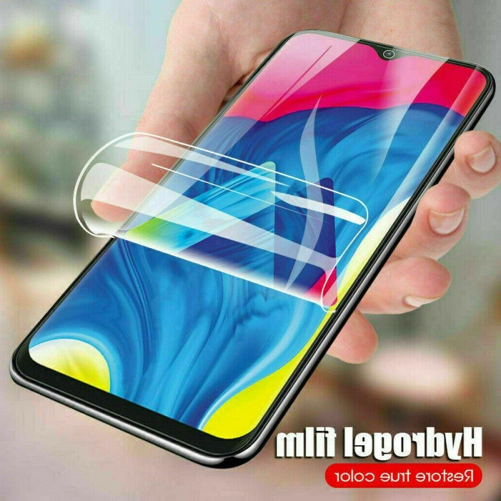 2 pack hydrogel screen protector soft film