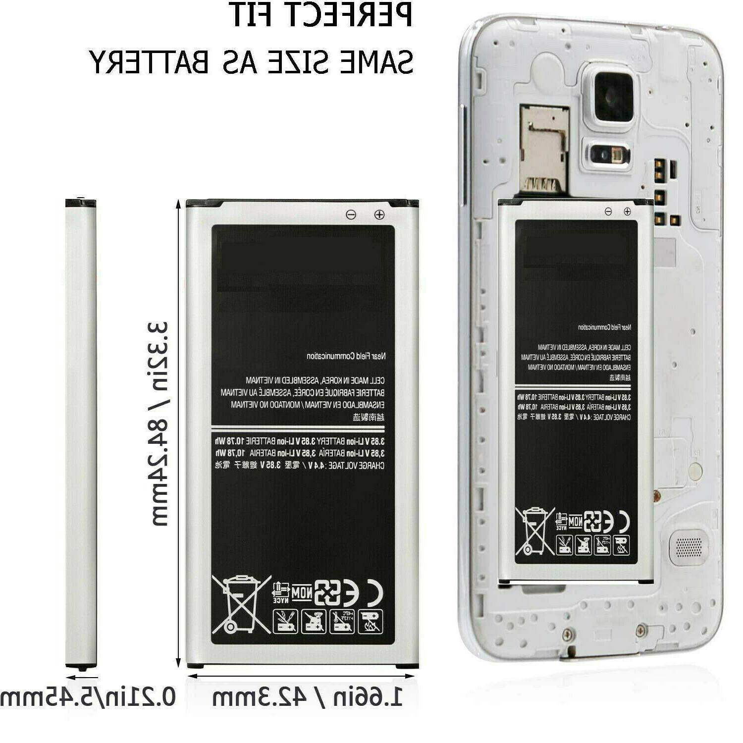 2800mAh New Replacement for S5 Genuine BG900BBE