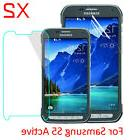 2X Tempered Glass PET Soft  Protector Film For Samsung Galax