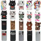 3D Cute Cartoon Silicone Phone Case Back Skin For iPhone 6 7