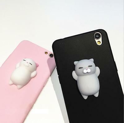 3D Squishy Cat Bear Soft TPU Rubber Shockproof Phone Case Co