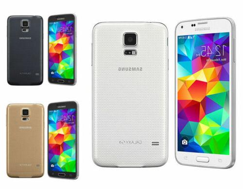 "5.1"" Samsung Galaxy S5 AT&T SM-G900A GSM Unlocked 16GB 16MP"