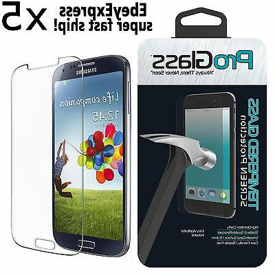 5 Ultra Thin Premium Real Tempered Glass Screen Protector Fo