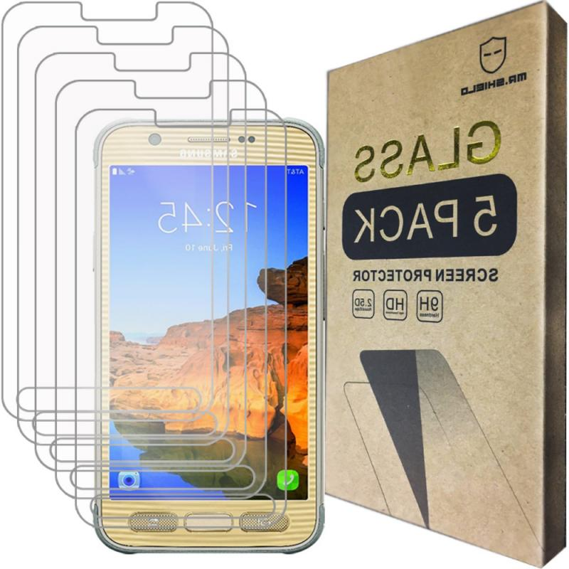 5-Pack Glass Screen for Samsung Galaxy S7