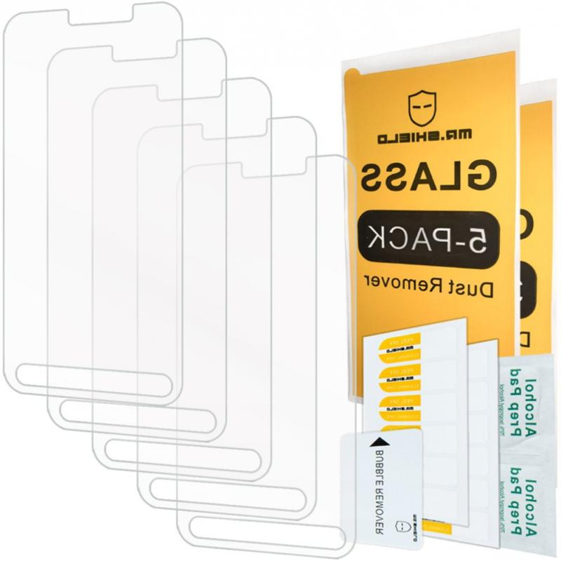 5 pack mr shield tempered glass screen