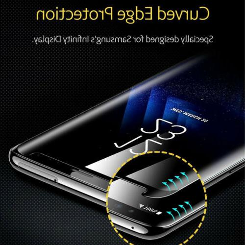 5D CURVED TEMPER GLASS SCREEN PROTECTOR FOR Samsung GALAXY N