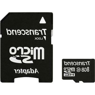 8GB microSDHC w/ SD Adapter for Samsung Galaxy S3 S4 S5 Cell
