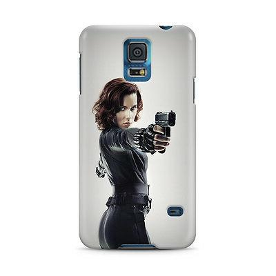 Black Widow Avengers Samsung Galaxy S4 S5 S6 Edge Note 3 4