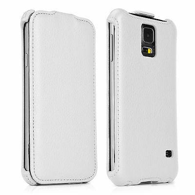 BoxWave Samsung Galaxy S5 Leather Case, Veritcal Flip Cover