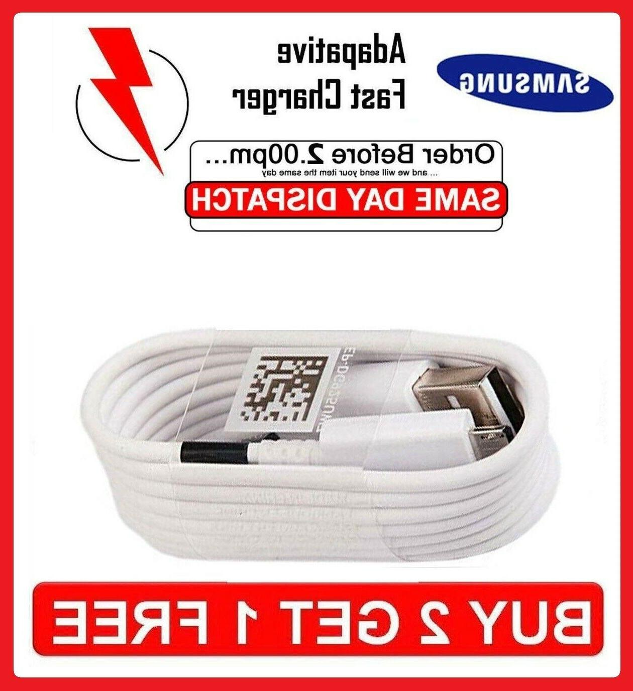 Charging Cable Samsung Galaxy S6 Edge+ S7 Note 4/5 Fast Char