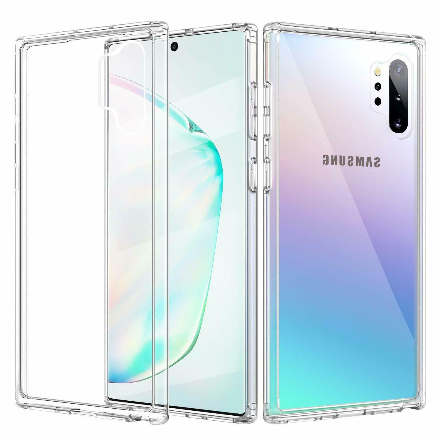 Clear Phone Case For Galaxy Note 10 9 8 4 5 S6 S7 S8 S9 S10