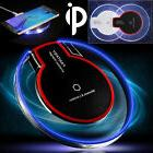 Clear Qi Wireless Fast Charger Charging Pad for Samsung Gala