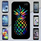 Colorful Pineapple Rubber Case for iPhone 5 6s 7 8 Plus & Ga