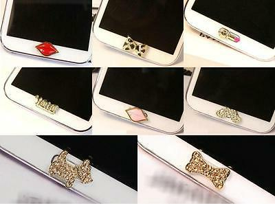 Cute Jewelry Design Home Button Sticker f Samsung Galaxys3,s