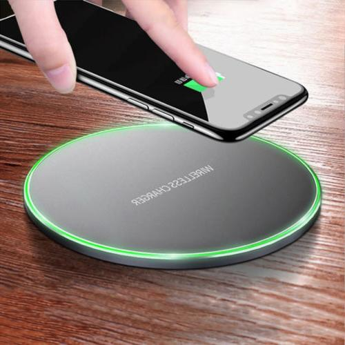 Fast Charging Qi Wireless Charger for Samsung Galaxy S8 S9 P
