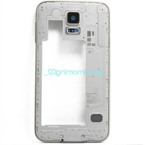 Fit Samsung Galaxy S5 I9600 G900H Back Housing Middle Frame