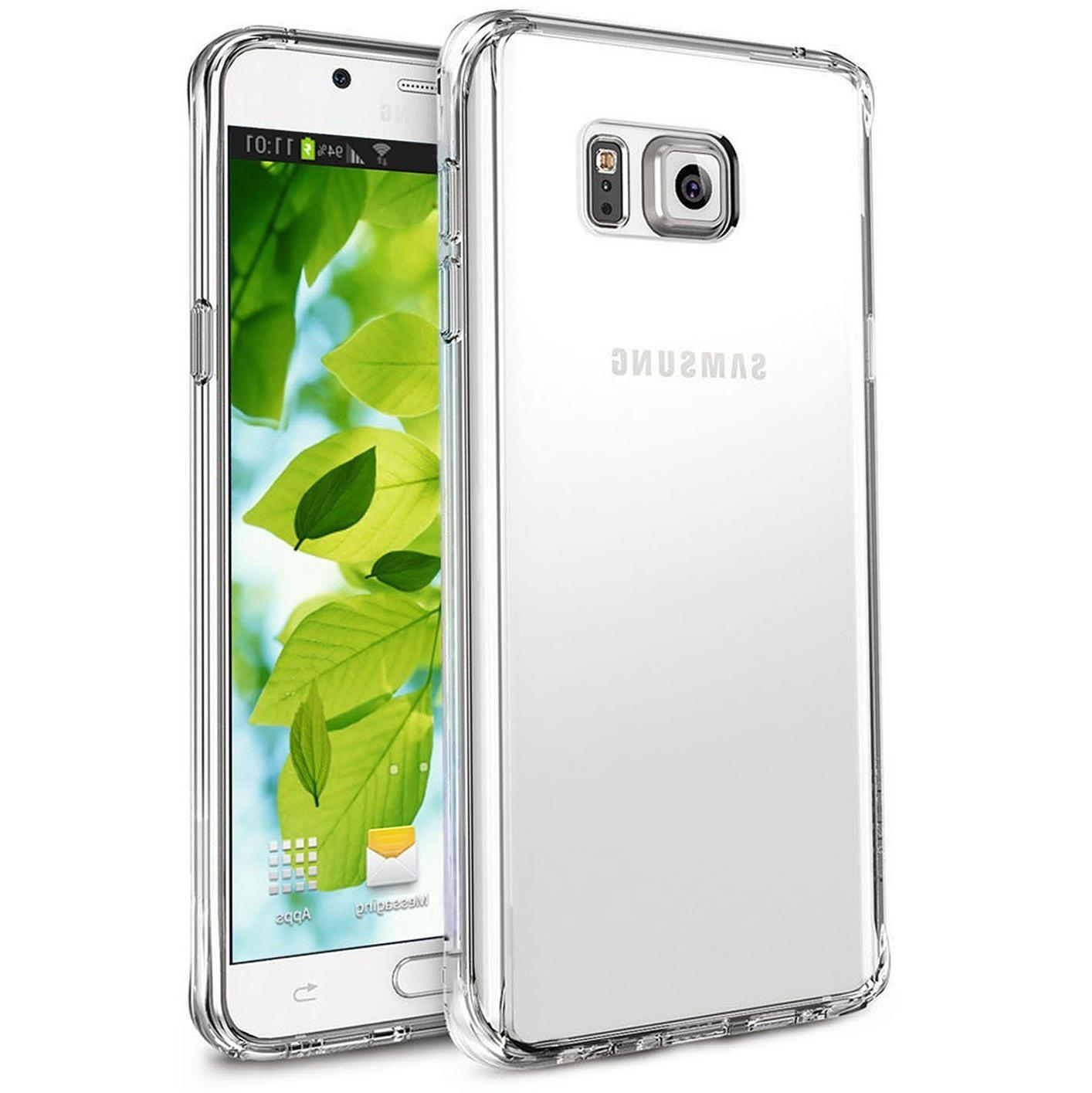 Clear Phone Case For Galaxy Note 10 9 8 4 S7 S8 S9 S10e Edge Case