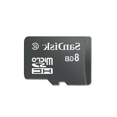 For AT&T PHONES - AUTHENTIC SANDISK 8GB MICRO-SDHC MEMORY CA