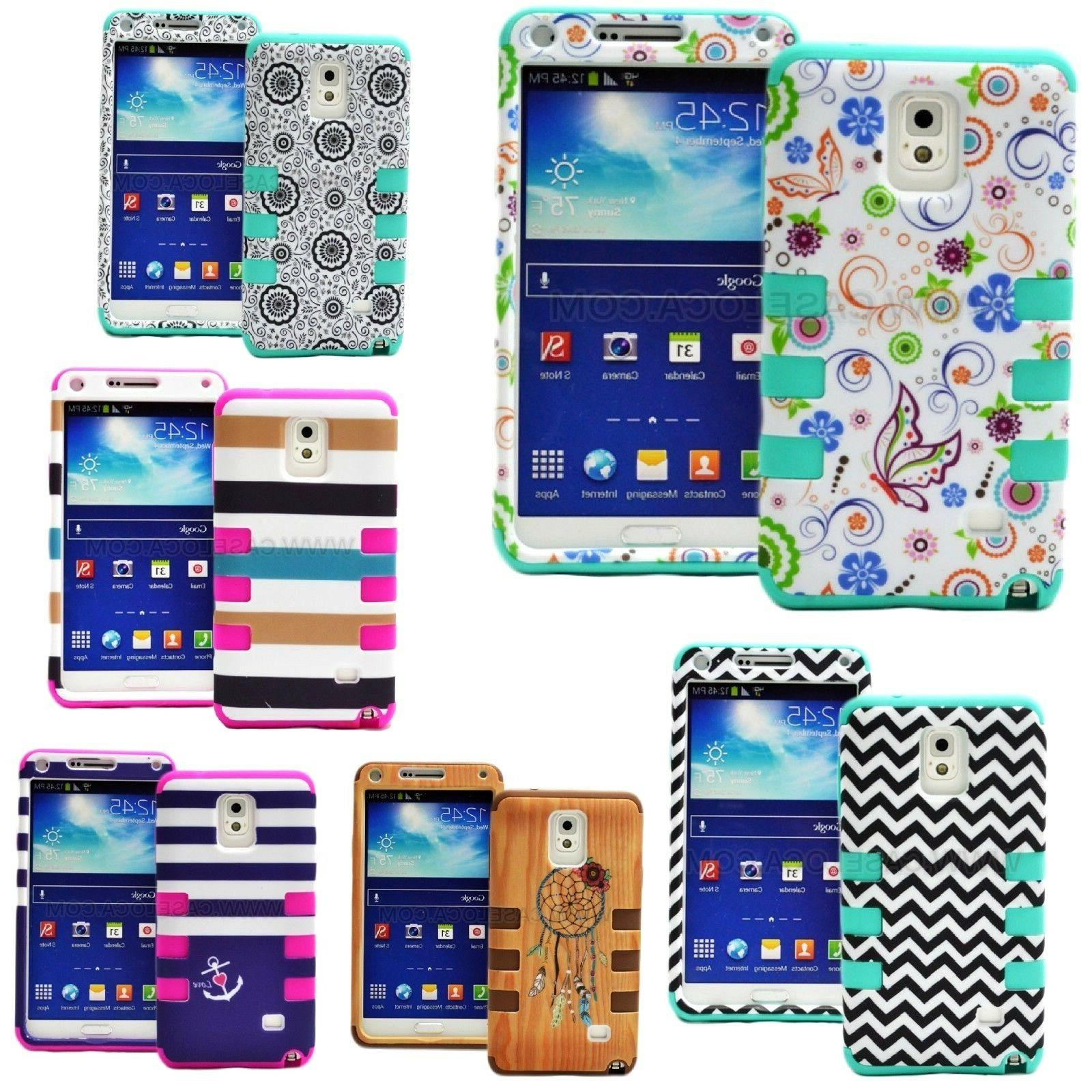 For Samsung Galaxy Note 4 5 Phone Hybrid Armor Shockproof Im