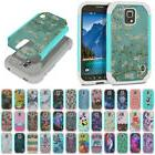 For Samsung Galaxy S5 ACTIVE G870A AT&T Design Hybrid Shock