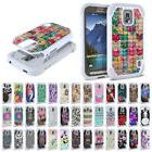 For Samsung Galaxy S5 ACTIVE G870A Dual Layer Hybrid Sparkle