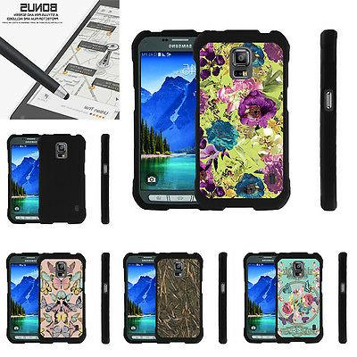 For Samsung Galaxy S5 Active G870 Case Hard Snap On 2 Piece