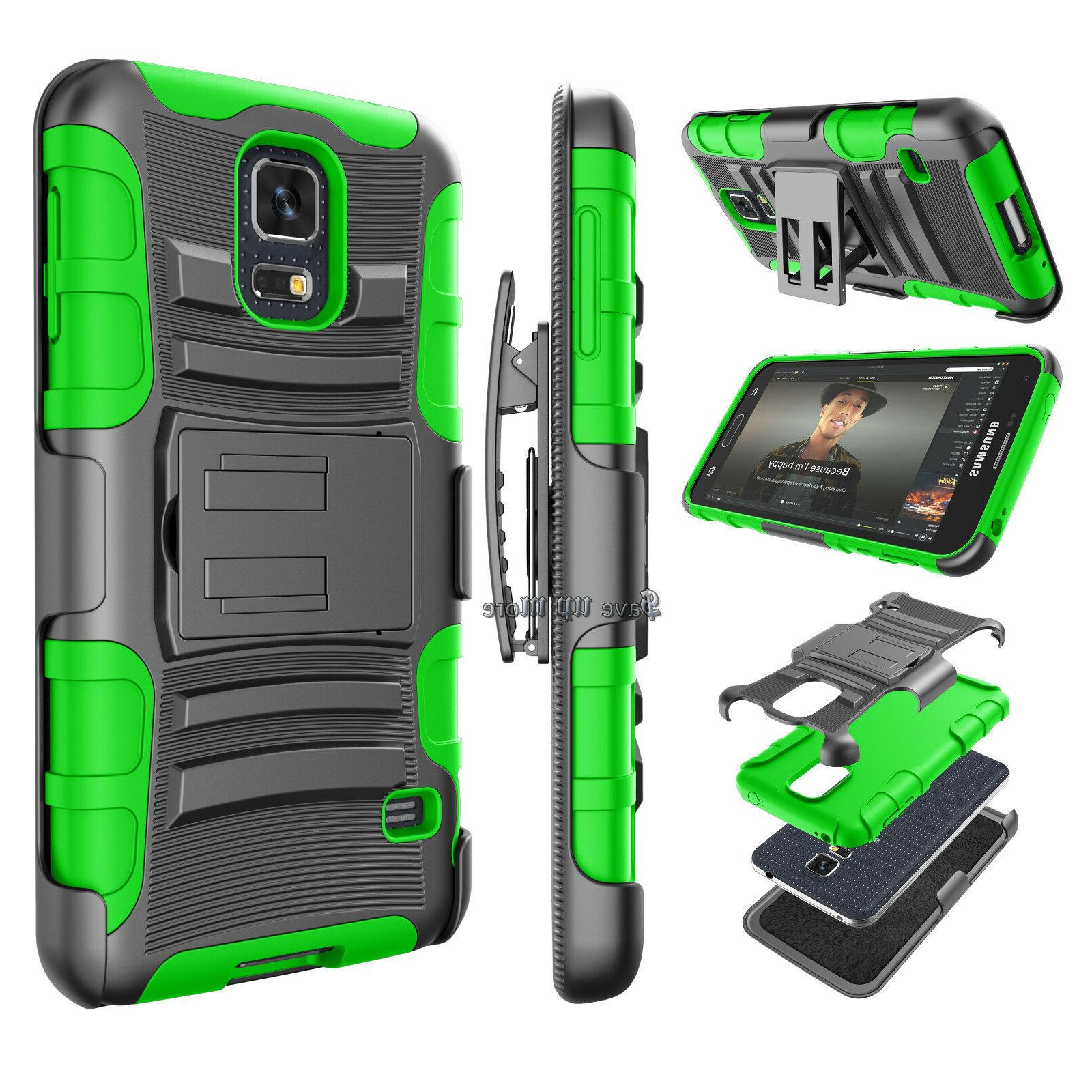 For Samsung Galaxy Armor Phone Cover + Holster