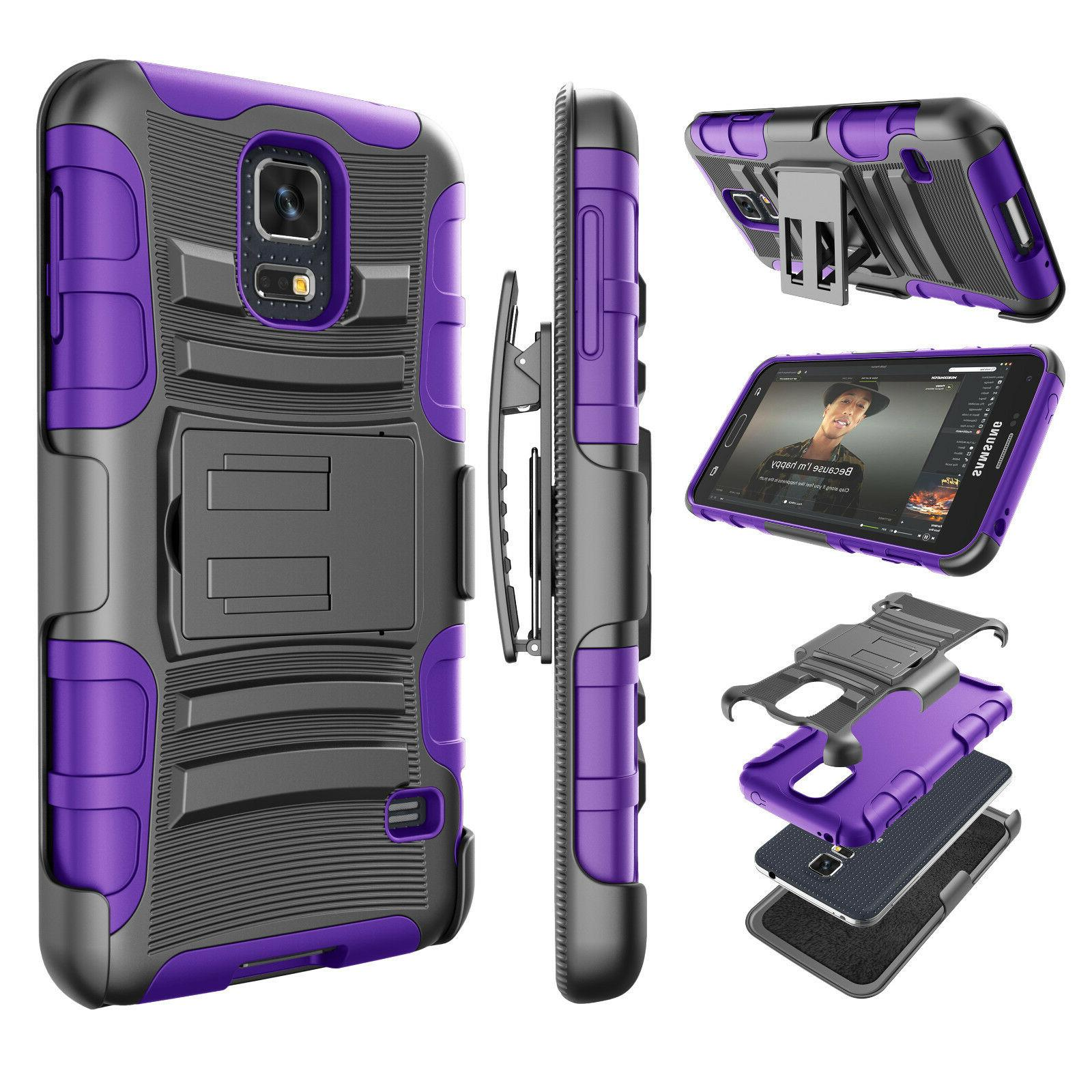 For Samsung Galaxy Armor Refined + Clip Hard