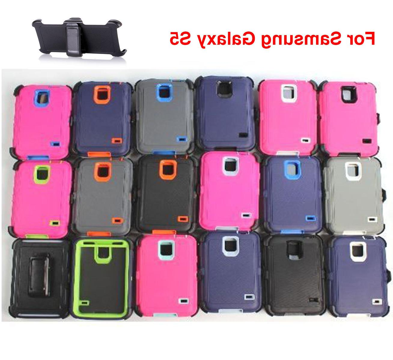 For Samsung Galaxy S5 Case Cover Rugged With