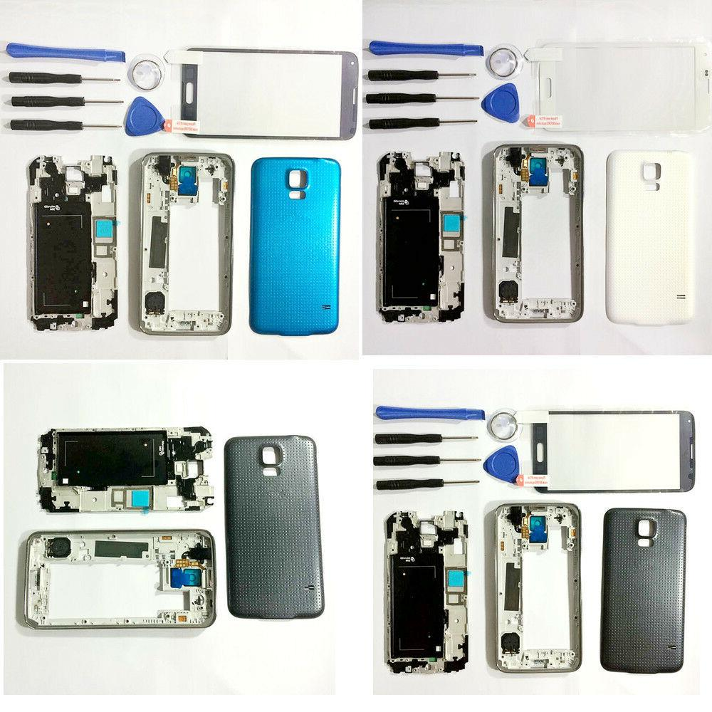 For Samsung Galaxy S5 G900 i9600 Full Housing Battery Cover