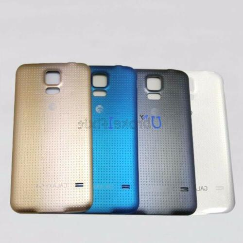 For Samsung Galaxy S5 G900A AT&T Battery Cover Rear Panel Ho