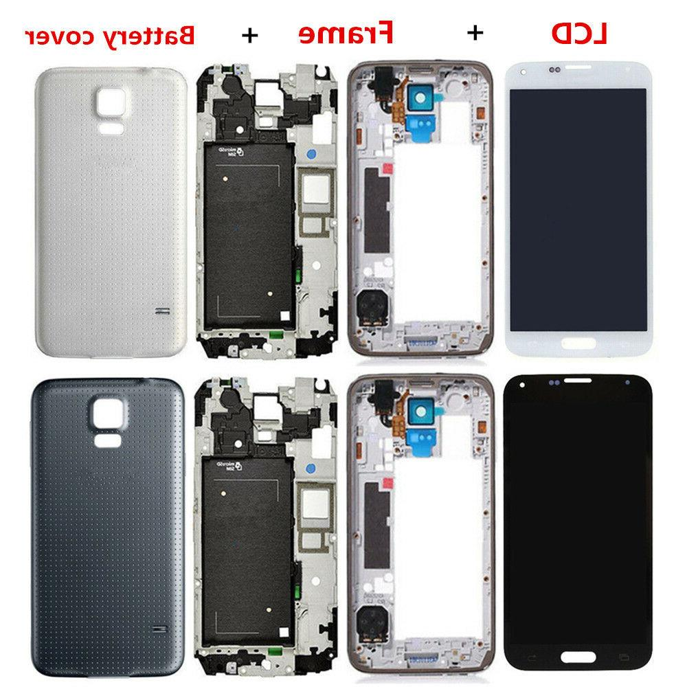 For Samsung Galaxy S5 LCD Display Touch Screen Digitizer Ful