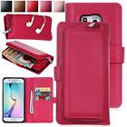 For Samsung Galaxy S5 Luxury Leather Removable Magnetic Card