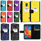 For Samsung Galaxy S5 Sport G860 Composition Book Pouch Wall