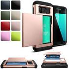 For Samsung Galaxy S5 Thin Credit Card Holder Wallet Case Sl