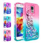 For Samsung Galaxy S5 | Liquid Glitter Bling Cute Cover Case