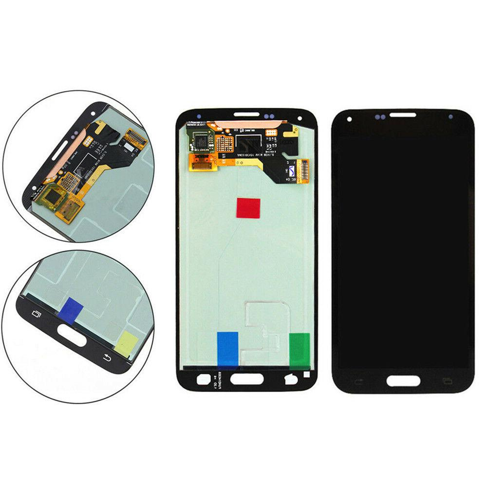 For S5 i9600 Digitizer LCD Display US