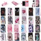 For Samsung Galaxy S8 + Note 8 S7 S6 Edge S5 S4 Wallet Leath