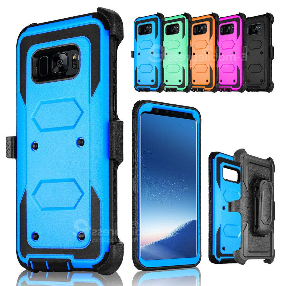 For Samsung Galaxy S8 Plus Note 8 Holster Belt Clip Shockpro