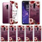 """For Samsung Galaxy S9 Plus/ S9+ 6.2"""" Bible Verses Clear Soft"""