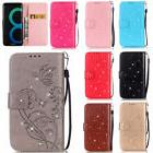 For Samsung Galaxy S9/S8 Plus/J7 S3 Pattern Leather Wallet P