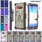 For Samsung Note 8 Shockproof Case Cover, Tempered Glass, Be