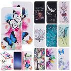 For Samsung S6 S7 S8+ S9+ Lovely Note 8 Magnet Leather Cash