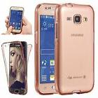 Full Coverage 360 Front & Back 2 in 1 Protective TPU Gel Cle