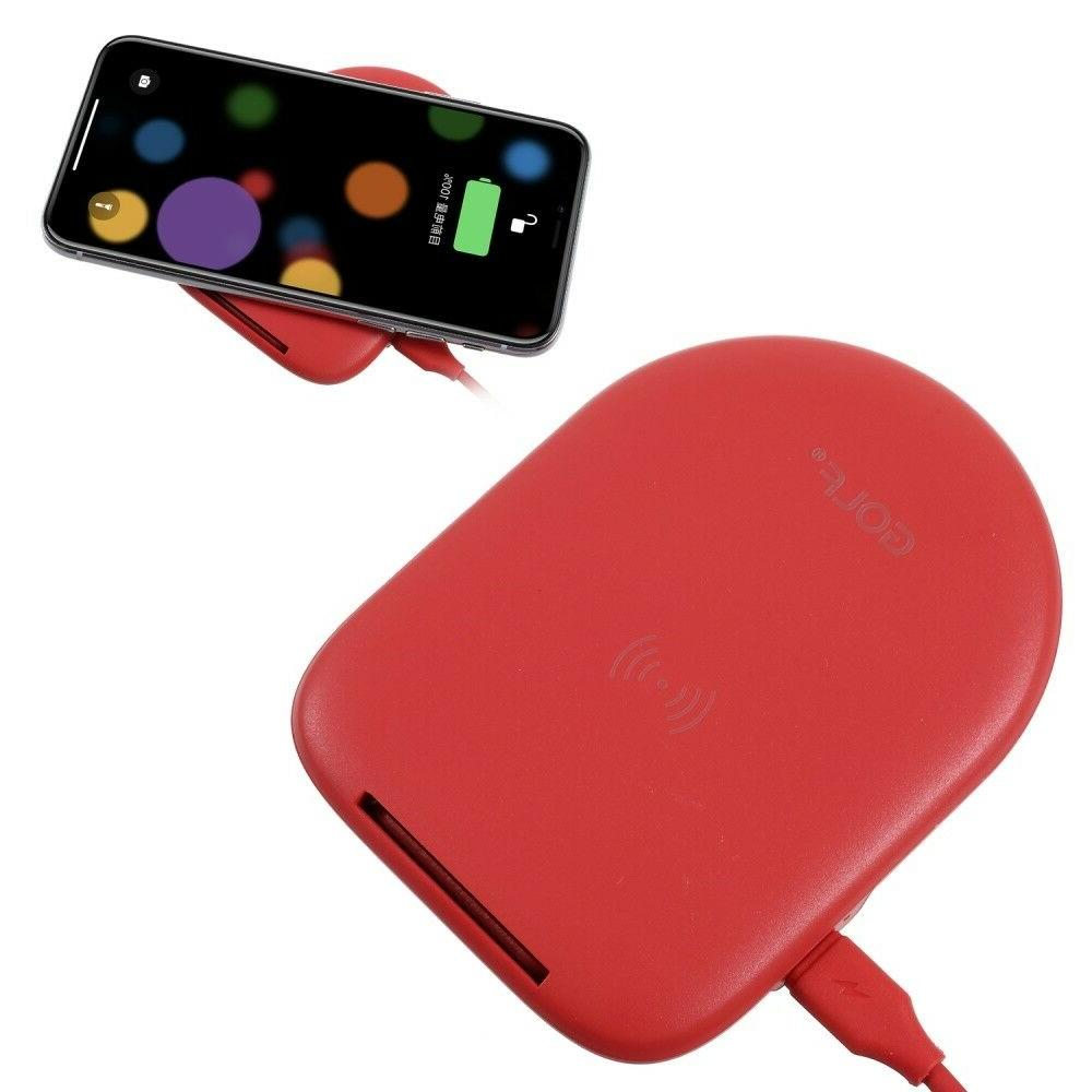 GOLF WQ7 Single Coil 5W Qi Wireless Charging Stand for iPhon