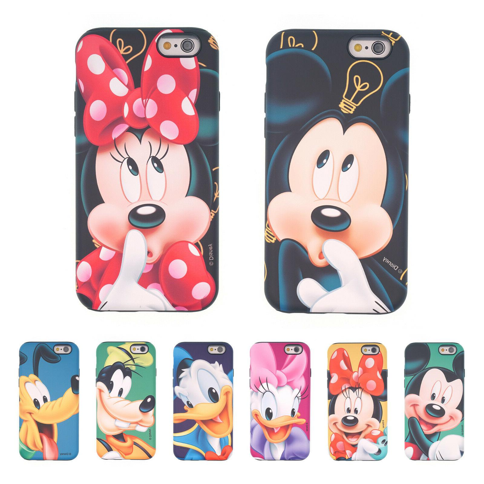 Galaxy S9 S8 S7 S6 Edge Note8 iPhone X 8 7 6S Plus 5S DISNEY
