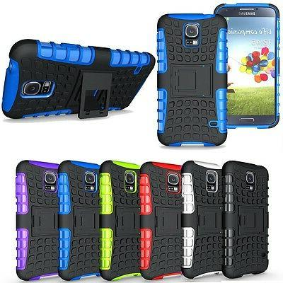 Heavy Duty Hybrid Rugged Rubber Hard Case Cover for Samsung
