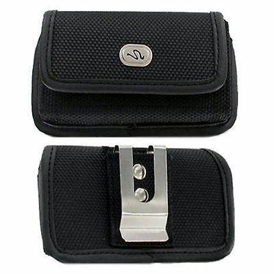 Heavy Duty Rugged Canvas Belt Clip Case for Samsung Cell Pho